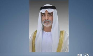 نهيان بن مبارك يعزي أمير الكويت في وفاة ..