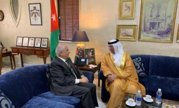 الإمارات و الأردن يبحثان آفاق التعاون ..