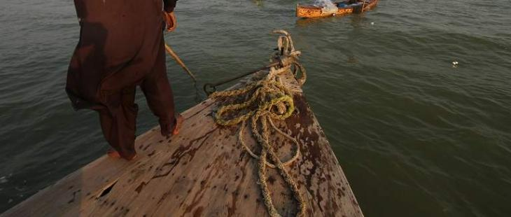 Sindh fisheries department release over four million fish species in Manchar lake
