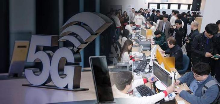 5G subscribers in S. Korea top 1 mln as country expands coverage