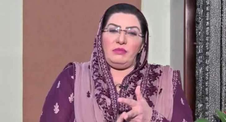 Maryam Safdar doing politics of self-interest, has nothing to do with people's problems: Dr Firdous Ashiq Awan