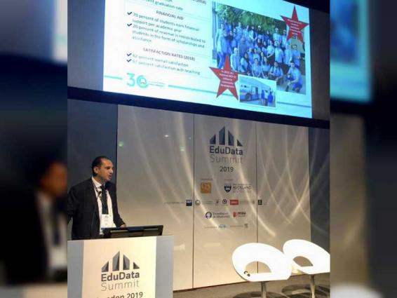 Ajman University Chancellor becomes only speaker from MENA region at UK conference