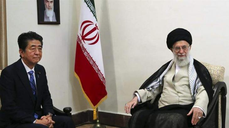Iranian Supreme Leader Says Will Not Answer Trump's Message From Abe
