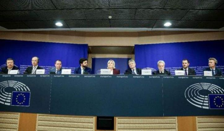 Far-right group in EU parliament doubles in strength