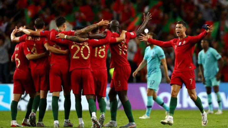 Portugal climb to fifth in FIFA rankings as Belgium remain top
