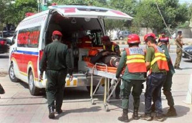 Deputy Commissioner witnesses mock exercises held by Rescue 1122