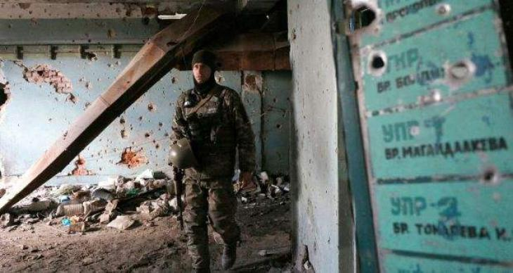 Artillery attack wounds family in east Ukraine