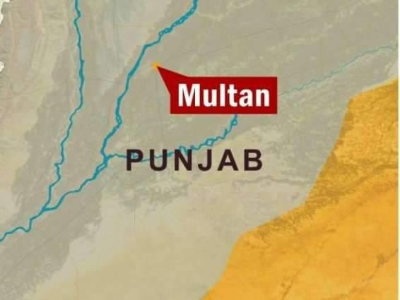 Weapons recovered during search operations in Multan