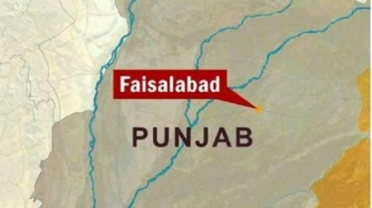 Clothes godown gutted in Faisalabad