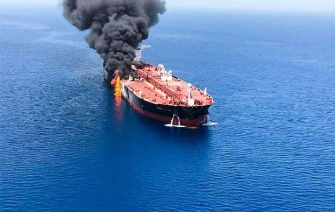 Russian Foreign Ministry Says Decisively Condemns Attacks on Tankers in Gulf of Oman
