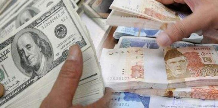 Dollar bounced by Rs2.94 in interbank, closed at Rs155.84