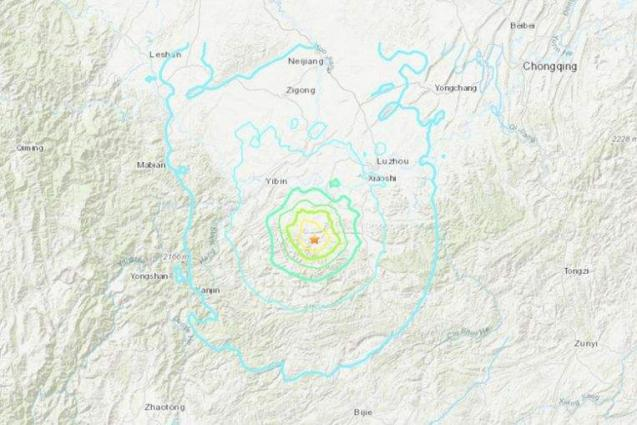 Southwestern China rattled by series of quakes