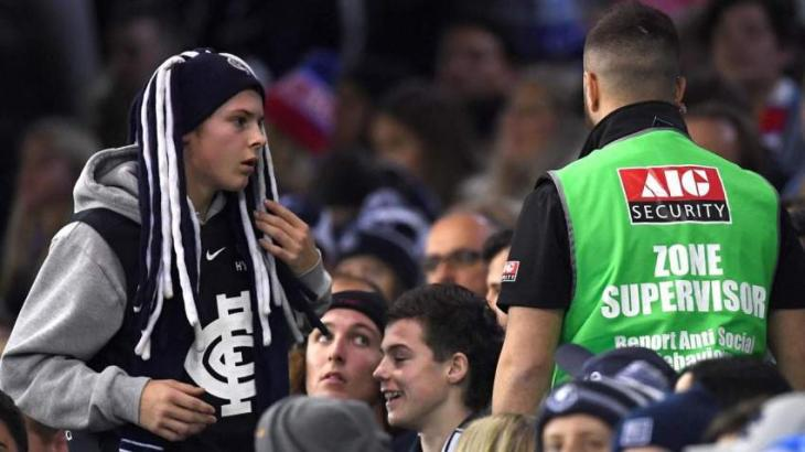 Aussie rules says sorry to fans for stadium 'behaviour' surveillance