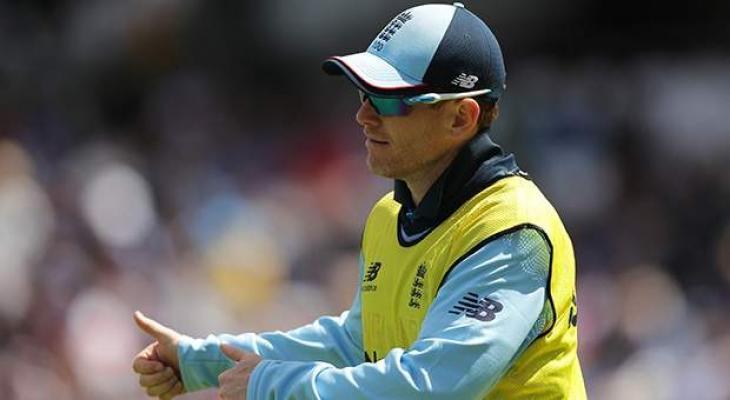 England captain Morgan bats against Afghanistan