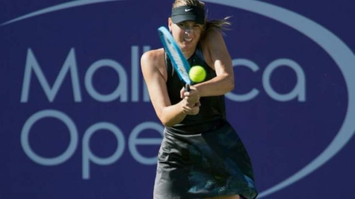 Sharapova makes winning return in Mallorca