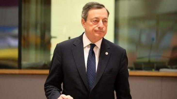 ECB's Draghi brushes off Trump charge of currency manipulation