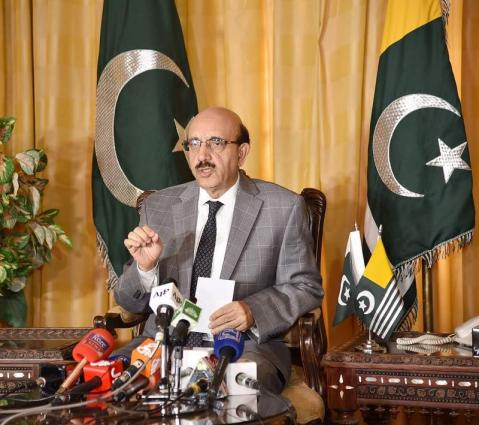 Baloch people deserve a salute for 'no' to India's proxy war: Masood Khan