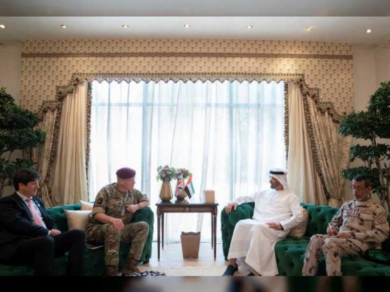Mohamed bin Zayed receives UK's Defence Senior Advisor for the Middle East