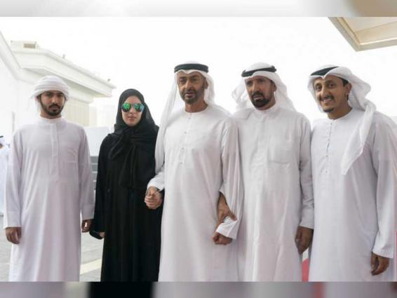 Proud to meet the caring father Mohamed bin Zayed: Amal Al Mansouri