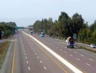 95 per cent work of Sukkur-Multan Motorway accomplished