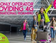Zong 4G offers International roaming facility in 32 Countries
