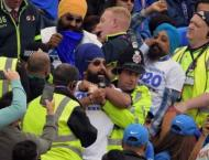 Fans ejected from World Cup match after political protest