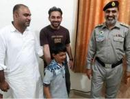 NH&MP reunite lost boy to his parents