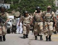 Sindh Rangers recover arms from a house in Lyari