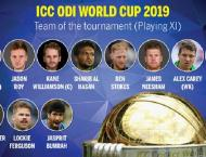 No Pakistani included in World Cup 2019 team of the tournament