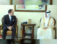 Ras Al Khaimah Ruler receives Turkish Consul General