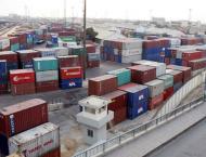 Shipping activity at Port Qasim 16 July 2019
