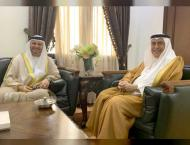 Saudi Foreign Minister receives Gargash in Jeddah