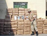 ANF seizes 1502 kg drugs worth Rs 2.76 bln in 26 operations