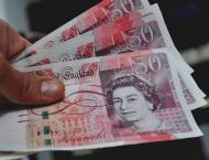 Brexit pounds sterling as stock markets retreat