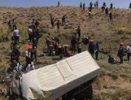 Minibus with migrants overturns in Turkey killing 14: report