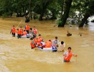 China rescues over 14,165 people in flood season