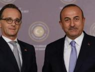 German, Turkish Foreign Ministers Discuss Situation in Eastern Me ..
