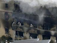 33 dead in suspected arson attack on Japan animation studio