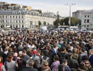 Russia opposition to rally against 'fraudsters' ahead of locals p ..