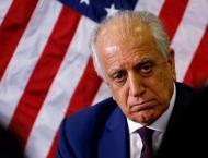 US special representative Zalmay Khalilzad indicates another roun ..