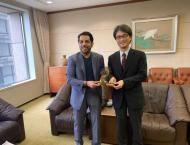Sharjah Finance Department strengths ties with Japan finance indu ..