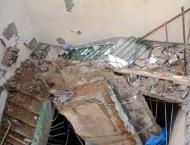 Three injures in roof collapse incident in Arifwala