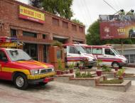 Rescue-1122 provides services to 774 road accident victims