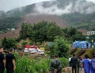 China landslide death toll jumps to 42, nine missing