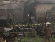 17 people killed in military plane crash in residential area in P ..