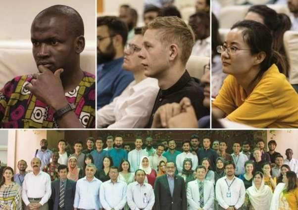 Foreign Students From 26 Countries Reach NUST To Attend