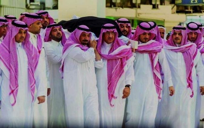 وفاة الأمیرة الجوھرة بنت عبدالعزیز بن مساعد في المکة المکرمة