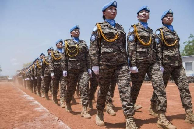 Military And Peacekeeping Training Programme For Women To