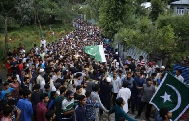 Kashmir martyrs day on Saturday