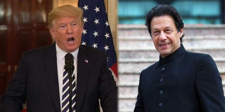 الرئیس الأمریکي دونالد ترامب سیستقبل رئیس الوزراء الباکستاني عمران خان في البیت الأبیض في 22 یولیو